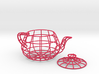 Wireframe teapot 3d printed