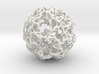 Tree Root Voronoi Sphere  3d printed