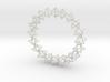 3d jewish star bracelet 3d printed