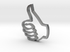Thumbs up pendant 3d printed