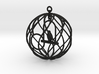 Birdcage Ornament 3d printed