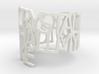 Ring Poem - Crystal 3d printed