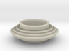 Concentric Conical Sphere Inversion Bowl 3d printed
