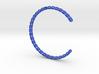 SPIRAL Bracelet Cuff Medium Large 3d printed