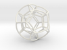 Double Bubble Dodecahedron 3d printed