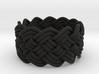 Turk's Head Knot Ring 5 Part X 12 Bight - Size 5 3d printed