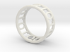 Binary ring 3d printed