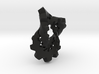Trefoil with Cogs 3d printed