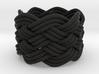 Turk's Head Knot Ring 6 Part X 7 Bight - Size 3.75 3d printed