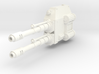 Mech Dual Gun Left Arm 3d printed