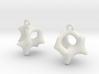 Earrings Hear 3d printed