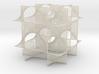Schwarz' D-surface 3d printed