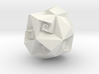 Twisted Rhombic Dodecahedron 3d printed