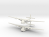 Me-323 (X2) Global War Scale 3d printed