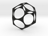 Dodecahedron Surface 3d printed