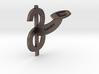 Dollar Cufflink 3d printed