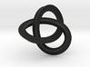 umbilic trefoil knot 1 3d printed