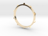Unholey Ring Sz. 8 3d printed
