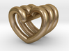 Heart Helix Pendant 3d printed