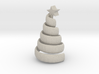 The swirl xmas tree 3d printed