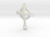 basic CROSS pendant 3 3d printed