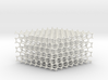 Hexagonal Diamond lattice 3d printed