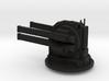 Rail gun turret - fixed 3d printed