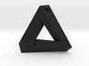 Penrose Triangle - Pendant (3.5cm | 3mm hole) 3d printed