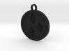 Rarity cutie mark pendant my little pony 3d printed