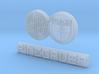Steyr Puch Pinzgauer Logo 1:10 Scale thin 3d printed