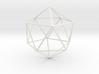 Wireframe Sphere 3d printed