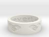 by kelecrea, engraved: Love you forever 3d printed
