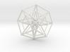 Hypercube Double  50mm 3d printed