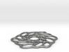 Organic form pendant 3d printed