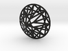 ROUND BRILLIANT WIRE FRAME 3d printed