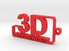 3D ARTRENDER LOGO KEYCHAIN 3d printed