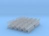 Z Scale Log Bunk V2.0 200 Pack 3d printed