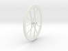 Real Wheel 3d printed