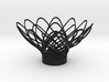flower tealight candle holder 2 3d printed