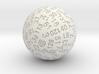 Gross Truncated Sphere 3d printed