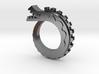 Oriental Dragon Ring 01 3d printed