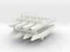 French La Fayette Frigate 1:3000 x8 3d printed