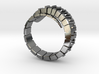 Mechanical Snake Ring 3d printed