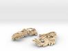 Blossom Earrings 3d printed