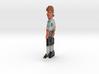 Guybrush Fridgemagnet 3d printed