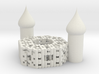 Onion Octagon Fractal Cathedral 3d printed
