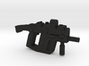 Super V SMG w Stock and Holo Sight 3d printed