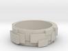 Block Ring 3d printed