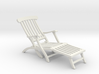 1:24 Titanic Deck Chair 3d printed