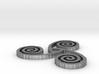 "Celtic Triple Spiral (1.5"") 3d printed"